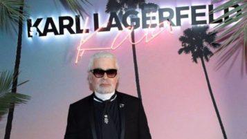 Έφυγε ο Karl Lagerfeld…